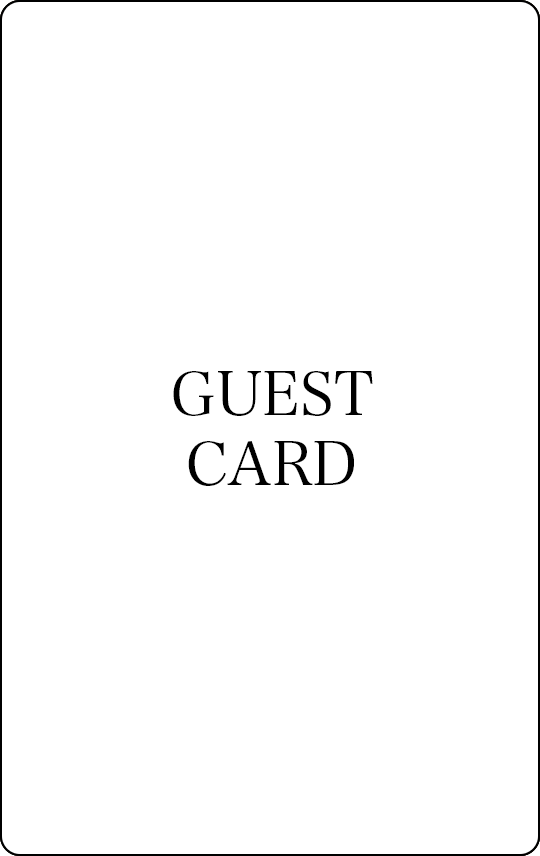 ゲストカード
